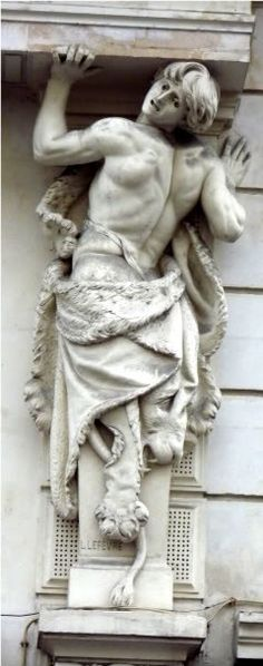 Caryatids and telamones of Paris | Any Port in a Storm