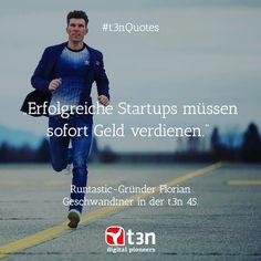 Im Interview in der #t3n45 erzählt uns @runtastic  Gründer @floriangschwandtner  seine Vergangenheit als Landwirt die erste Million und das nächste große Ding im Startup-Business...  #t3nmagazin #digitalpioneers  #t3nquotes #print #runtastic