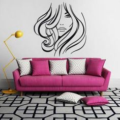 1000 images about stickers y decoraci n on pinterest wall stickers silhouette online store - Decoracion vinilos salon ...