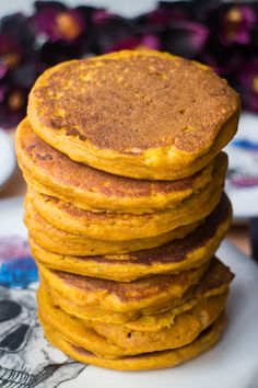 Pumpkin Baby Pancakes Pumpkin Baby Pancakes Recipe for babies, toddlers and parents! This easy pancake recipe is great for baby led weaning for first foods! These pumpkin pancakes are healthy and nutritious! Serve for breakfast or dinner - freeze leftov