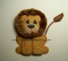 Lion Tear Bear Paper Piecing Embellishment by Patty by babygirl24, $7.99
