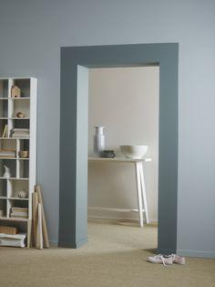 Color azul 6315 Color marco 6325 Color gris 1622 Half painted walls Home decor Decor