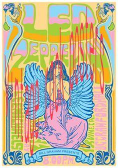 LED ZEPPELIN   1 maggio 1969 Irvine  manifesto di tarlotoys, €10.00