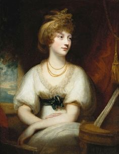 Princess Amelia 1783 –1810 was the youngest daughter of King George III. She fell in love with the Hon. Charles Fitzroy and hoped to marry him. However she died after contracting the measles. She lingered long enough to make a mourning ring for her father and to bequeath her belongs to Fitzroy. It is thought her death pushed the King over the edge into his final bout of illness.