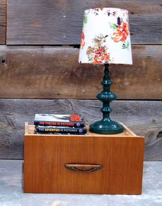 DIY Fabric-Covered Lampshade