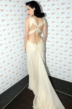 Dita ... love the low cut back
