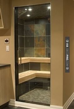 So good - Steam shower/sauna | CHECK OUT MORE IDEAS FOR SHOWERS AT DECOPINS.COM…