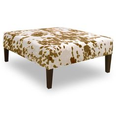 Have to have it. Skyline Udder Madness Palomino Cocktail Ottoman - $266.99 @hayneedle