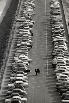 Holtz.    Mont Saint-Michel, Parking, 1965  Thanks toundr
