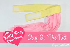 My Little Pony Sew Along: Day 9: The Tail, By: Sugar Tart Crafts