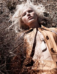 Second Skin Vogue Netherlands May 2015 Photographer: Jan Welters Stylist: Marije Goekoop Hair: Anthony Cristiano Makeup: Ozzy Salvatierra Model: Ola Rudnicka