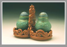 Sandi Pierantozzi: Salt and pepper set. I love the tray that they sit in.