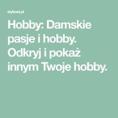 Hobby: Damskie pasje i hobby. Odkryj i pokaż innym Twoje hobby. Textile Patterns, Crochet Patterns, Textiles, Disney Diy, 3d Paper, Irish Crochet, Crochet Flowers, Ravelry, Cross Stitch Patterns