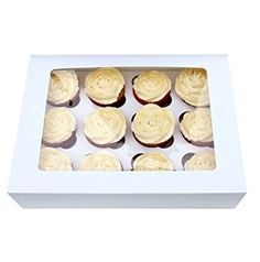 Box for 12 Cupcakes with Window and Tray by Turtle Products (5)
