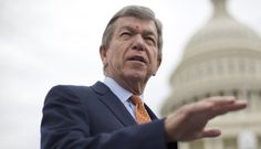"""""""It has been four months since they said they needed four months to put that in place. I think they can do that without a travel ban and I hope they are,"""" Sen. Roy Blunt, R-Mo., said. (AP Photo/Pablo Martinez Monsivais)"""