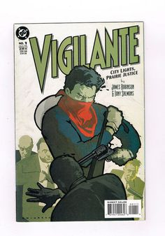 VIGILANTE: CITY LIGHTS, PRAIRIE JUSTICE 4-part Modern Age series from DC! NM http://r.ebay.com/qkPmQE