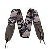 Review for Mugig Guitar Strap Leisure Camouflage Style Wide and Soft Materail with Leather... - Frankie Linares  - Blog Booster