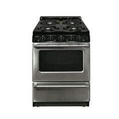 Premier 20 in. 2.42 cu. ft. Freestanding Gas Range in Stainless Steel-P20S3102P at The Home Depot