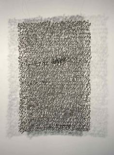 Artworks   Paper Calligraphy   Miriam Londoño