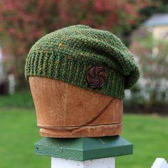 Slouchy beanie, handmade Rasta hat, slouchy beret, crochet hat, drapey hat, crochet hipster beanie, handmade boho hat, relaxed beret by UpthePitt on Etsy www.upthepitt.com
