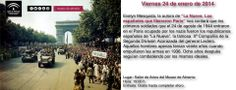 """Presentación del libro """"La Nueve. Los españoles que liberaron París"""". Viernes 24 de enero de 2014. Salón de Actos del Museo de Almería. Hora: 19:00."""