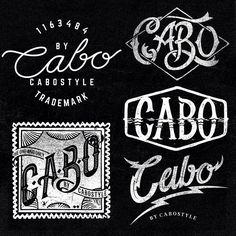 Más del #lettering que hice para la pasada temporada de #cabostyle / More of the lettering I did flor the last @cabostyle #clothing season.          #tshirts #graphictees
