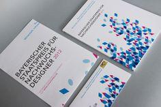 Design of invitation, poster and catalogue  for Bayerischer Staatspreis für Nachwuchsdesigner 2012. By Rookman / studio. #rookman #bsp2012 #staatspreis #nachwuchsdesigner #design #invitation #prize #catalogue #poster