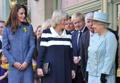 Kate Middleton, Camilla, and the Queen