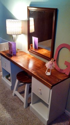 Diy vanity anawhite vanity beauty is in the eye of the beholder play vanity do it yourself home projects from ana white solutioingenieria Images