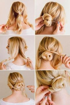 motivational trends: Ladies Hair Style Tutorials...