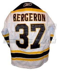 Patrice Bergeron Autographed Uniform - w Stanley Cup Champions - Autographed  NHL Jerseys by Sports Memorabilia.  406.64. Patrice Bergeron Boston Bruins  ... 5bf0932ca