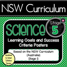 NSW CURRICULUM STAGE 1 Science Learning Goals & Success Criteria Posters Inquiry Focus question Posters also included. This packet has all the posters you will need to display the learning goals for the whole year Learning Goals, Learning Resources, Teacher Resources, Teaching Ideas, Visible Learning, Teaching Posters, Primary Classroom, Classroom Decor, Success Criteria