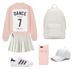 """""""cute"""" by vit1017 on Polyvore featuring Studio Concrete, adidas Originals, Kate Spade and PB 0110"""
