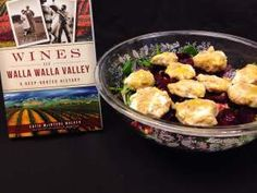 """Kelli's Beet Salad with Chevre and Candied Walnuts ------------ Happy #THPgiving! Time for another fantastic giveaway from our American Palate series. This time, THP staff attempted some delicious recipes from our books and today's inspiration/prize is """"Wines of Walla Walla Valley"""" by Catie McIntyre Walker.  This delicious recreation was done by our western sales support Kristen! Check out historypressblog.net to enter and we'll be doing a new one each weekday! #thanksgiving #giveaway #yum"""