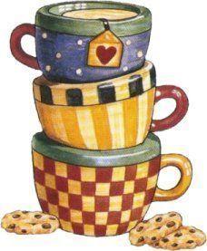 Tasitas de té :)