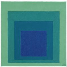 View Study for Homage to the Square: Reciprocal By Josef Albers; Op Art, Joseph Albers, Artist Inspiration, Travel Art, Fine Art Painting, Serial Art, Art, Josef Albers, Abstract Expressionist