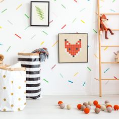 Fun playroom decorating ideas for your little ones' space. Our kids' collection is aimed to create a happy and stimulating environment, inspired by authentic floor tiles with a contemporary tweak. Living Room Bedroom, Rugs In Living Room, Kids Bedroom, Bedroom Decor, Interior Styling, Interior Decorating, Decorating Ideas, Vinyl Rug, Playroom Decor