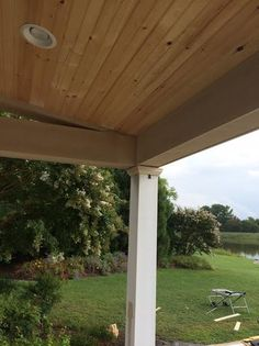 Best 39 Awesome Cedar Planks On Ceiling Images Wood Ceiling 640 x 480