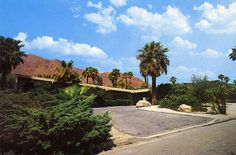Dean Martin Home in (Rancho Mirage) Palm Springs, CA