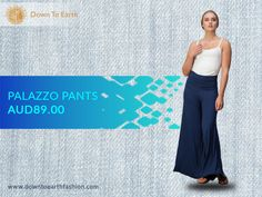 Feel the luxurious softness of natural fabrics clothing. Check out our latest Bamboo collections. Call Us: 02 8005 2644 - downtoearthfashion.com                                         #BambooPants #PalazzoPants #NaturalOrganicBamboo #SustainableClothes #EthicallyManufactured #OrganicBamboo #FairTrade