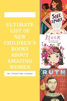Ultimate List of Children's Books about Amazing Women - My Storytime Corner Elizabeth Blackwell, Elsa, Thinking In Pictures, Little Einsteins, Mighty Girl, Book Reviews For Kids, Malala Yousafzai, Cool Books, Inspirational Books