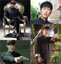 """Kim Woo Bin & Jang Hyuk  """"Love Cell""""."""