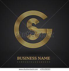 Letter GQ or QG linked logo design circle G shape. Elegant silver and gold colored letter symbol. Vector logo design template elements for company identity. Circle Logo Design, Vector Logo Design, Logo Design Template, Graphic Design, Business Logo Design, Business Card Logo, Sg Logo, Carta Logo, Letter Symbols