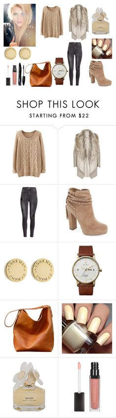 862 by nelssy-escalante-machacon on Polyvore featuring moda, River Island, H&M, Jessica Simpson, Triwa, Marc by Marc Jacobs and Lancôme