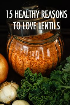 Lentils pack a powerful healthy punch! We've got 15 healthy reasons to love them! Pea Recipes, Lentil Recipes, Vegetarian Recipes, Healthy Recipes, Healthy Habits, Healthy Snacks, Healthy Eating, Healthy Sides, Food Hacks