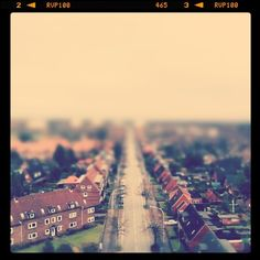 Miniature suburb.