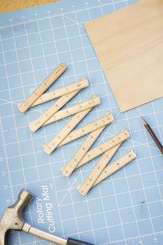 66592021dae Wooden Folding Ruler · Cool ToolsSticky ...