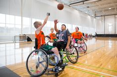 https://flic.kr/p/21khuft | Jr. Pacers Wheelchair Basketball Home Tournament @ Mary Free Bed YMCA - Nov 4, 2017
