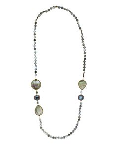 Necklace made of sterling silver 925 with mother of pearl stones Silver Jewelry, Beaded Necklace, Stones, Fashion Jewelry, Pearls, Sterling Silver, Gold, Beaded Collar, Rocks