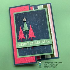 Fun Fold Cards, Folded Cards, Holiday Cards, Christmas Cards, Holiday Decor, Stampin Up Catalog, Paper Pumpkin, Whimsical, Best Gifts